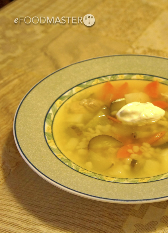Pickles Soup Rassolnik