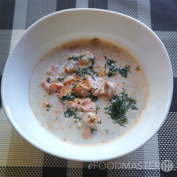 Lohikeitto – Finnish Salmon Soup